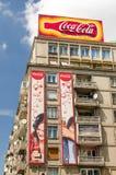 Coca Cola Advertising Immagini Stock Libere da Diritti