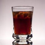 Coca-cola avec de la glace Photo libre de droits