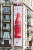 Coca-Cola Bottle Advertising Royalty Free Stock Photos