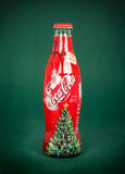 Coca-Cola Bottle, For Santa Stock Images