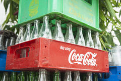 Coca Cola brand logo. Stock Image