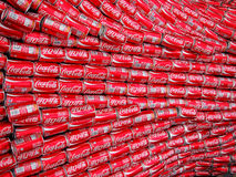 Coca Cola Cans Royalty Free Stock Photo
