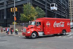 Coca cola car Stock Photo