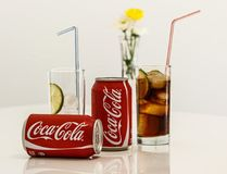 Coca Cola, Cold Drink, Soft Drink Stock Image