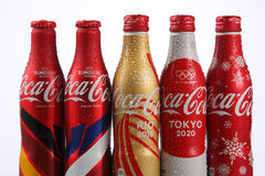Coca cola collection Stock Image