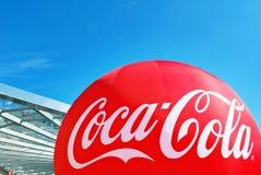 Coca-cola del segno Fotografia Stock Libera da Diritti