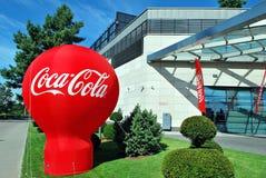 Coca-cola del segno Fotografia Stock