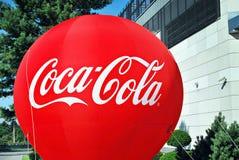 Coca-cola del segno Fotografie Stock