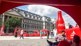 Coca cola event Royalty Free Stock Photos