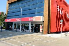 Coca-cola expo 2015 de Milan, Milan Photo libre de droits