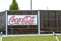 Coca-Cola Fürstenfeldbruck Stock Image