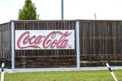 Coca-Cola FÃ ¼ rstenfeldbruck στοκ εικόνα