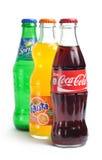 Coca-cola, fanta, sprite Imagem de Stock Royalty Free