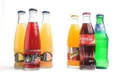 Coca-cola, fanta, sprite, shweppes, cappy Photo stock