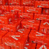 Coca Cola Friends Royalty Free Stock Photography