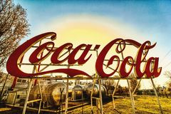 Coca-Cola Hungary royalty free stock photo