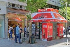 Coca Cola Kiosk fotografie stock