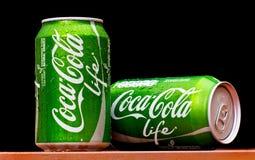 Coca Cola LEBEN Lizenzfreie Stockbilder