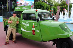 Coca Cola life retro marketing Stock Images