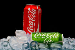 Coca cola LIFE Royalty Free Stock Photo