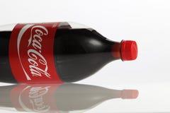 Coca-cola 1 5 litros Fotografia de Stock