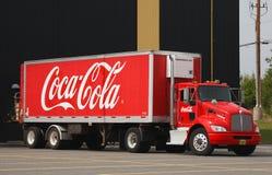 Coca-Cola-LKW Stockbild