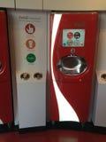 Coca-Cola machine. Royalty Free Stock Image