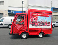 Coca Cola Mini Vehicle Stock Photography