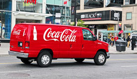Coca Cola Minivan Stock Photos