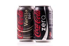coca - cola nolla Arkivfoto