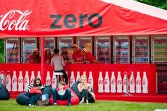 Coca-Cola Nul Stock Afbeeldingen
