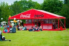 Coca-Cola Nul Royalty-vrije Stock Afbeelding