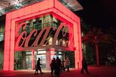 Coca-Cola-Opslag bij Disney-de Lentes in Walt Disney World Stock Afbeeldingen