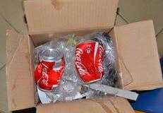 COCA-COLA podrobienie Zdjęcia Stock