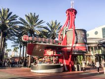 Coca Cola Stand at Universal City Walk, Orlando, Florida.  royalty free stock image