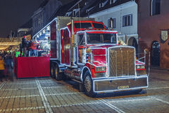 Coca-Cola truck Royalty Free Stock Photography