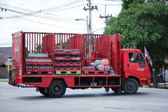 Coca Cola Truck,Coke Product. Royalty Free Stock Photography