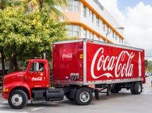 Coca Cola Truck Stock Photos
