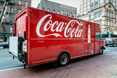 Coca-Cola truck Royalty Free Stock Photo