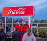 Coca cola truck Stock Photography