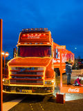Coca cola truck Stock Photos