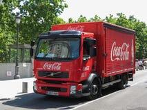 Coca Cola van Stock Photo