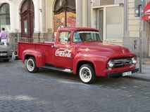 Coca Cola van Stock Photography