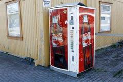 Coca-Cola vending machine Stock Images