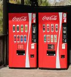 Coca Cola Vending Machines Royalty Free Stock Photos
