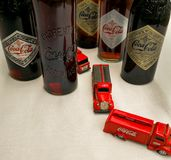 The Coca Cola vintage Photo stock images