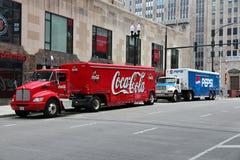 Coca-Cola vs Pepsi Stock Images