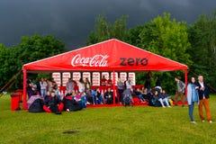 Coca-Cola zéro Photos stock