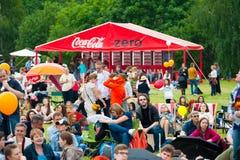 Coca-Cola zéro Images stock