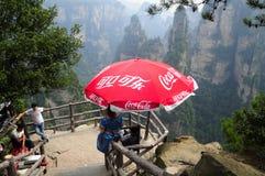 Coca Cola in Zhangjiajie China Stock Photos